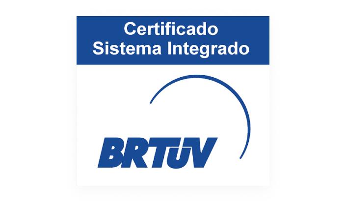 Imagem de Certificado Sistema Integrado.