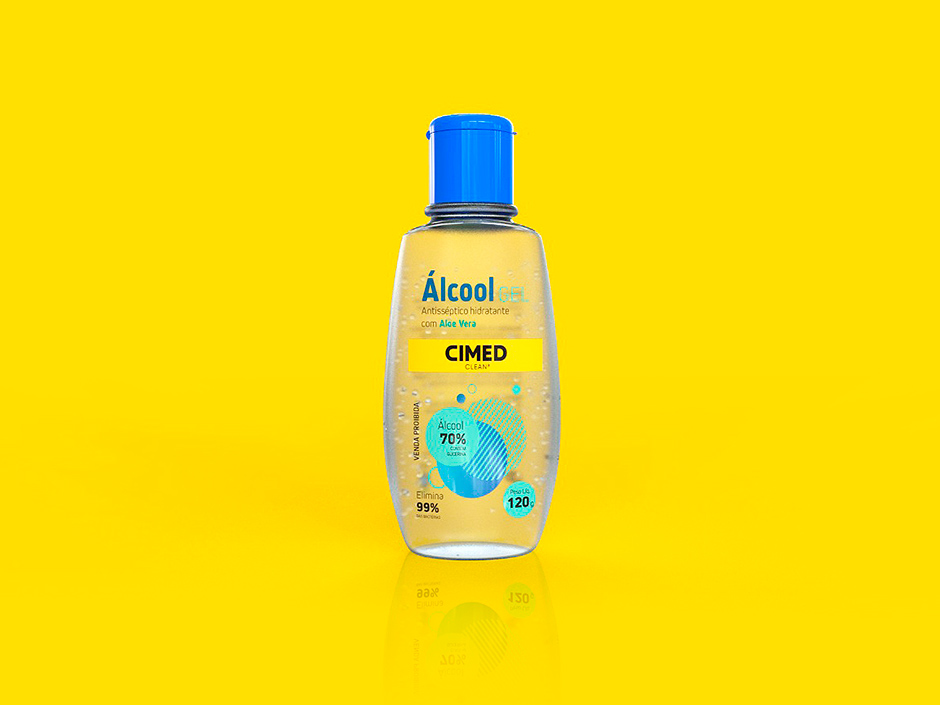 Cimed fabricará álcool gel 70% para doação