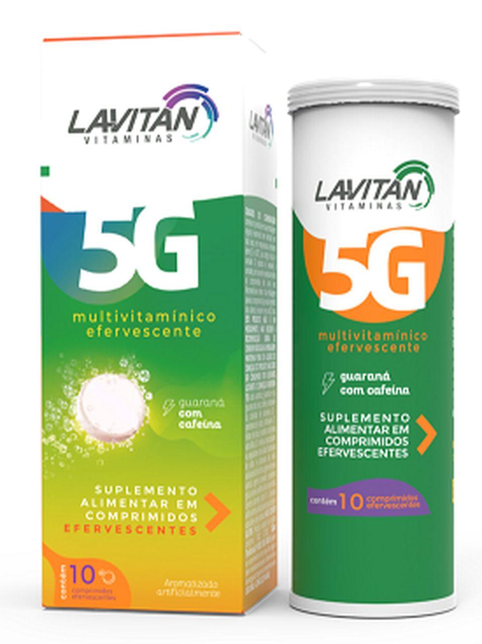 Imagem da Embalagem de Lavitan 5G Efervescente Guaraná