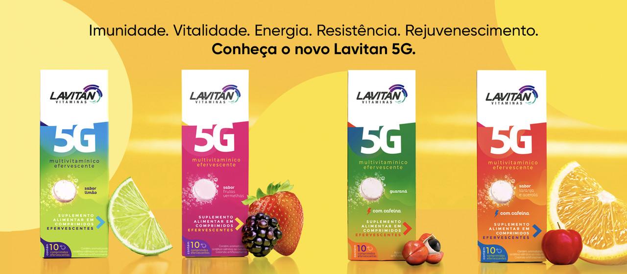Imagem de destaque na página com benefícios do novo Lavitan 5G.