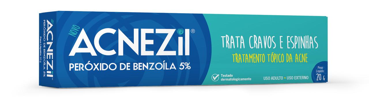 Imagem de embalagem de Acnezil Peróxido de Benzoíla 5%