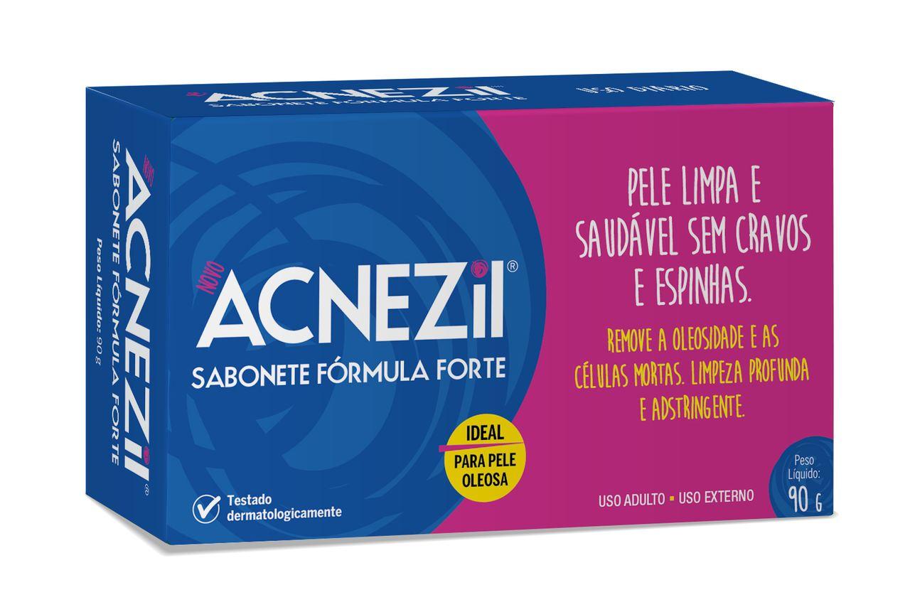 Imagem de embalagem Acnezil Sabonete Fórmula Forte