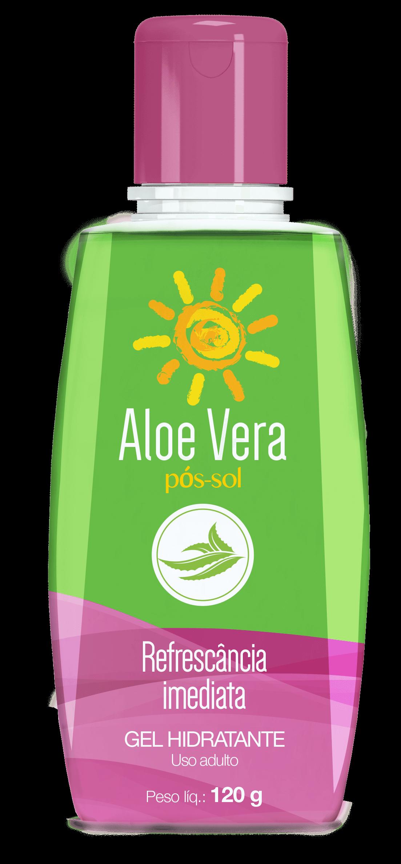 Imagem da embalagem de Calamina Aloe Vera pós-sol