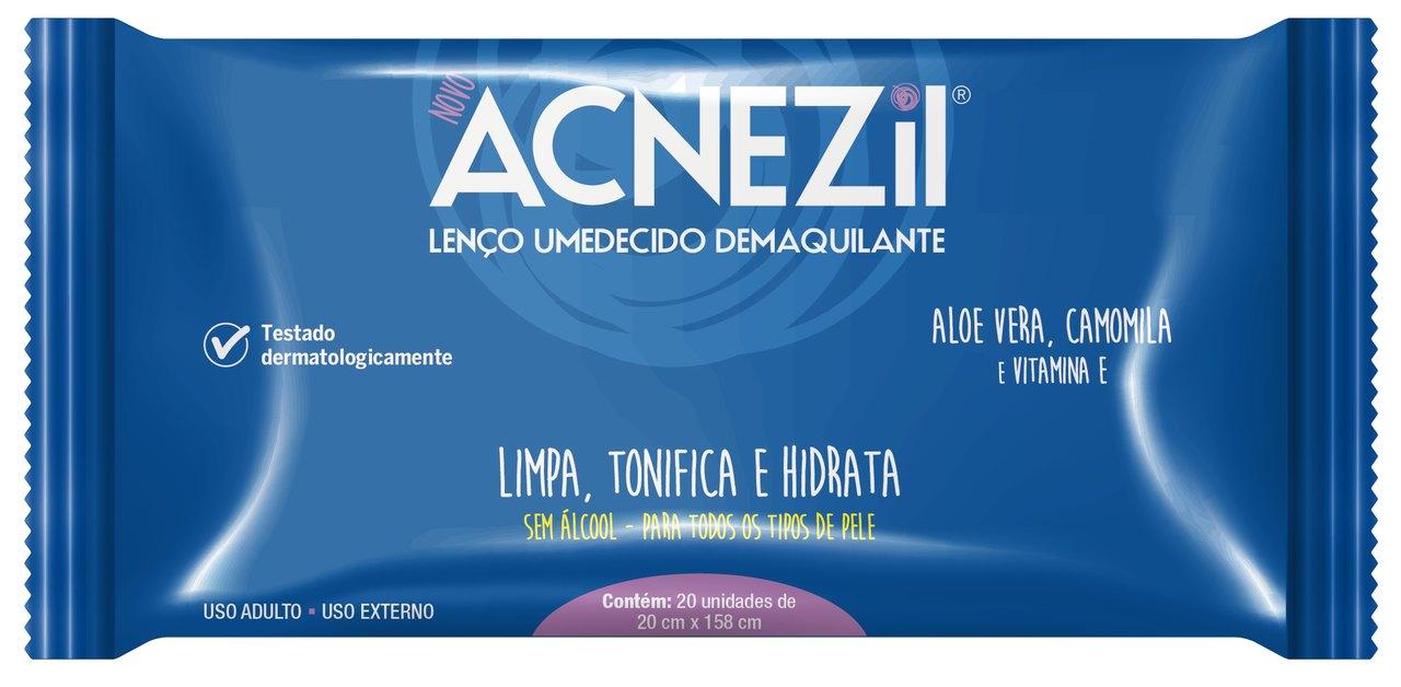 Imagem de embalagem Acnezil Lenço Demaquilante