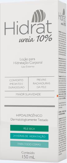 Imagem da embalagem do Hidrat 10%.