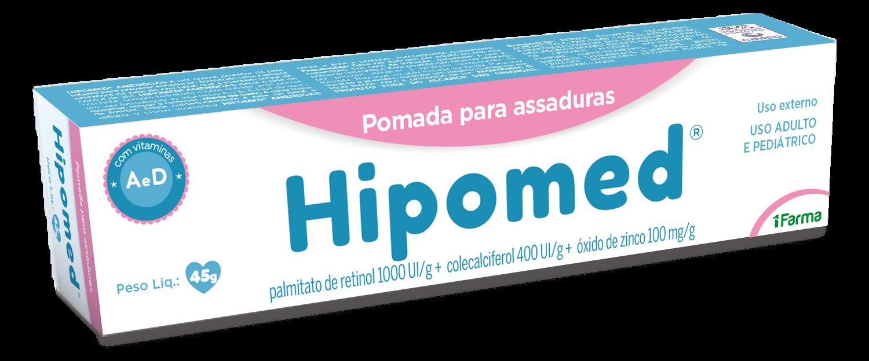Imagem da embalagem do Hipomed.