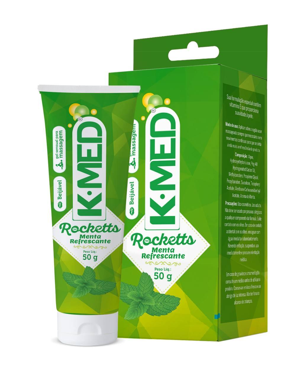 Imagem do produto K-Med Rocketts Menta Refrescante