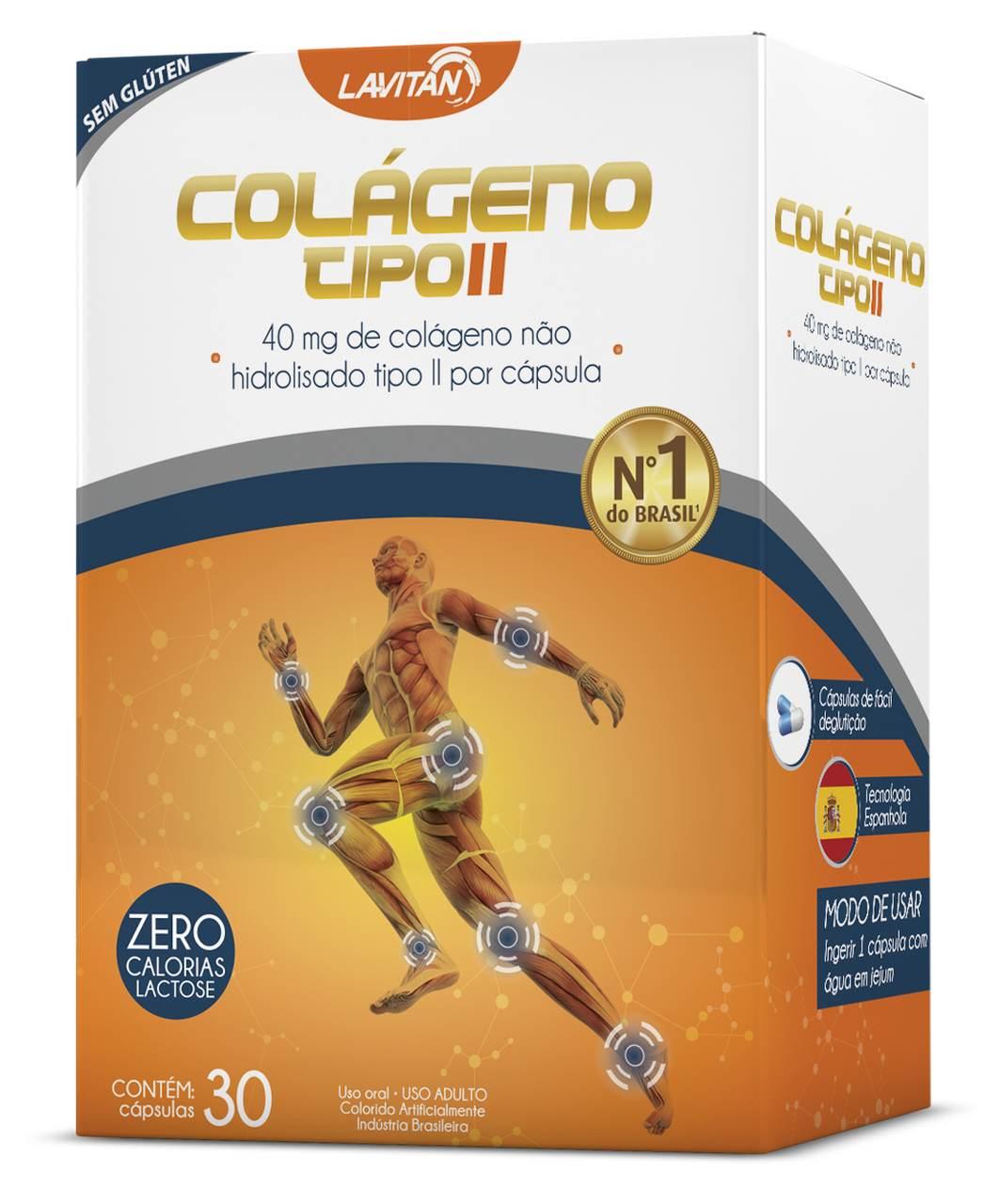 Imagem da Embalagem de Lavitan Colágeno Tipo 2