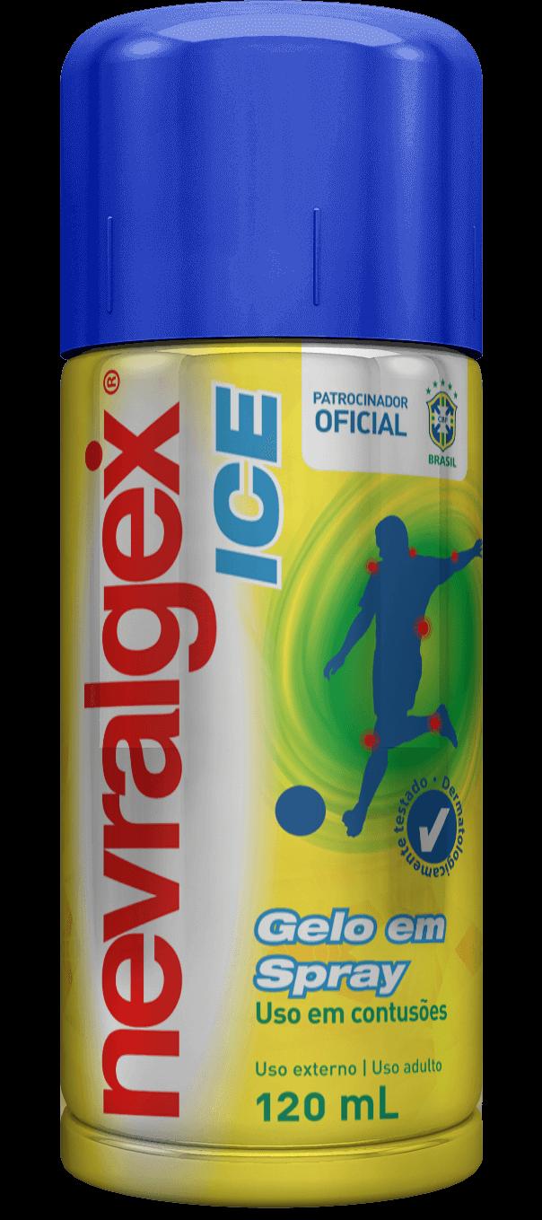 Imagem da embalagem do Nevralgex Ice Aerossol.