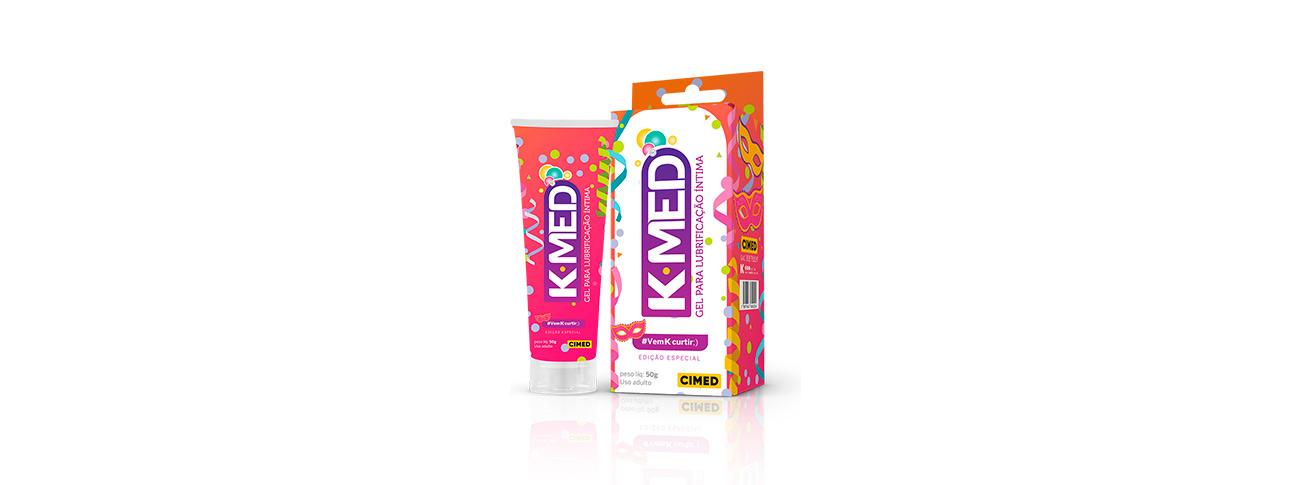 Ilustração de embalagens de K-Med.