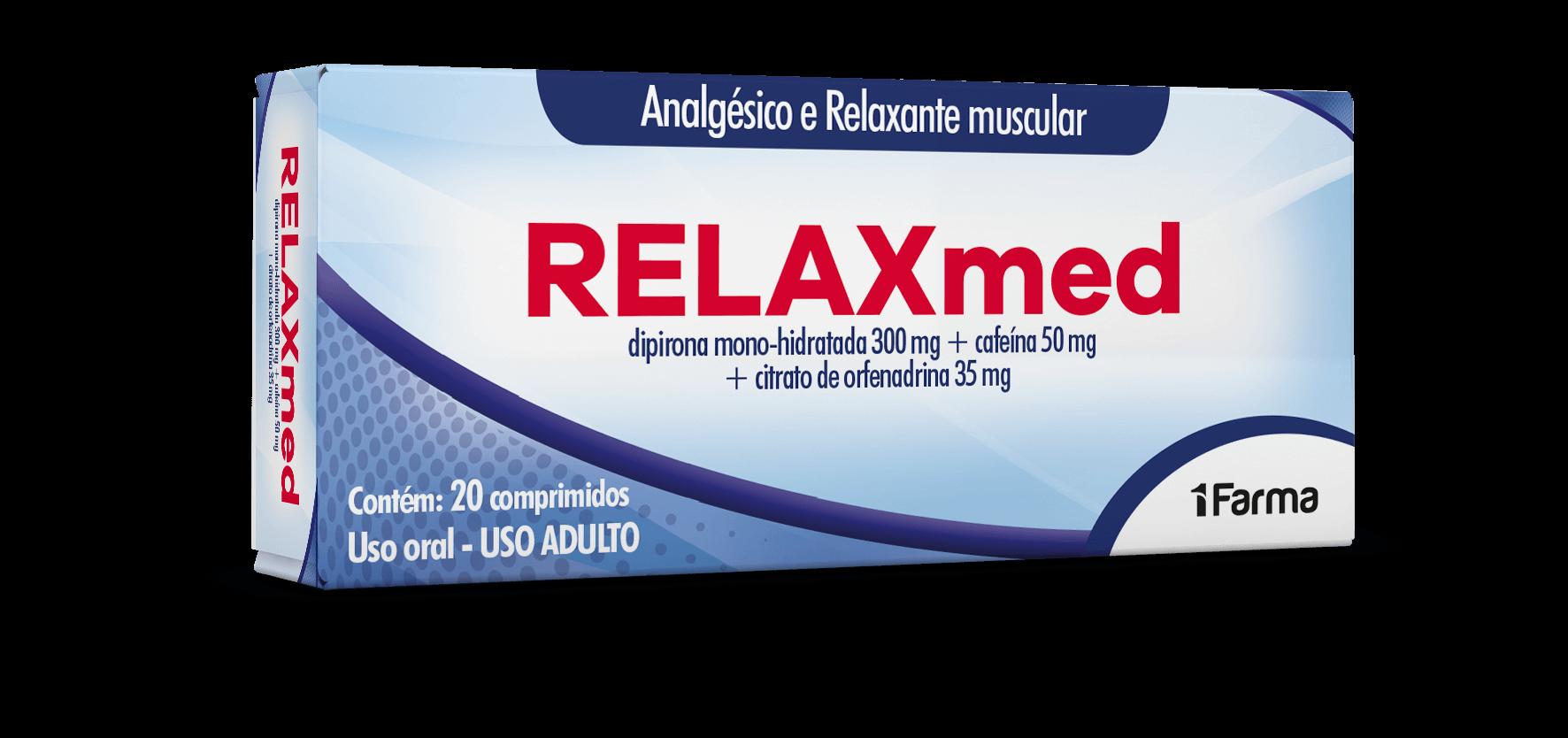 Imagem da embalagem do Relaxmed.