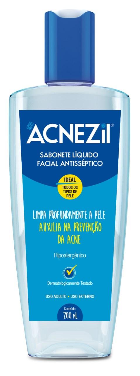 Imagem de embalagem de Acnezil Sabonete Líquido Facial