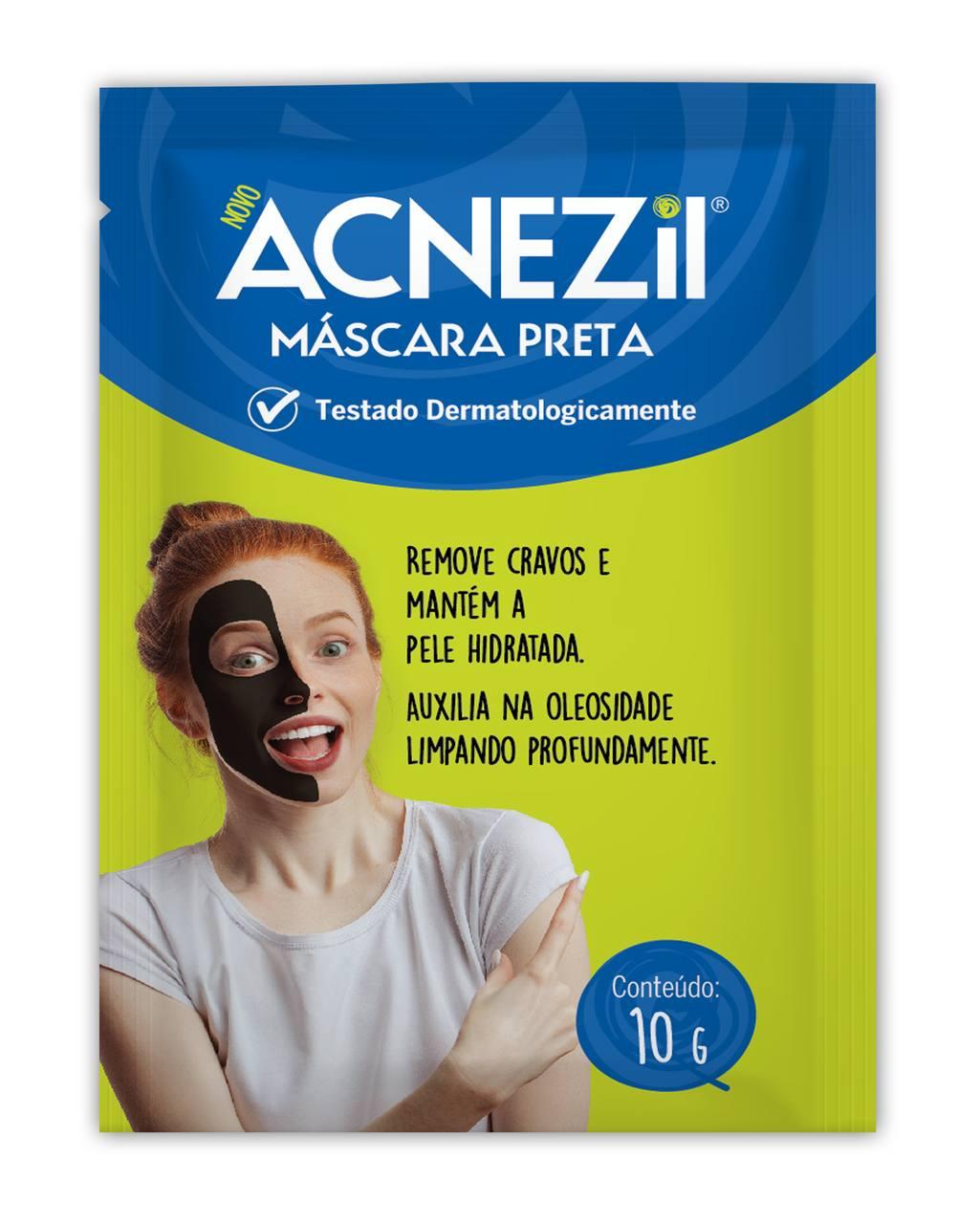 Imagem de embalagem de Acnezil Máscara para Cravos