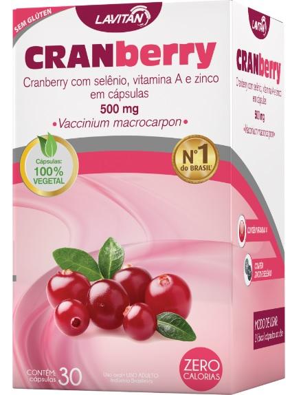 Imagem da embalagem de Lavitan Cranberry