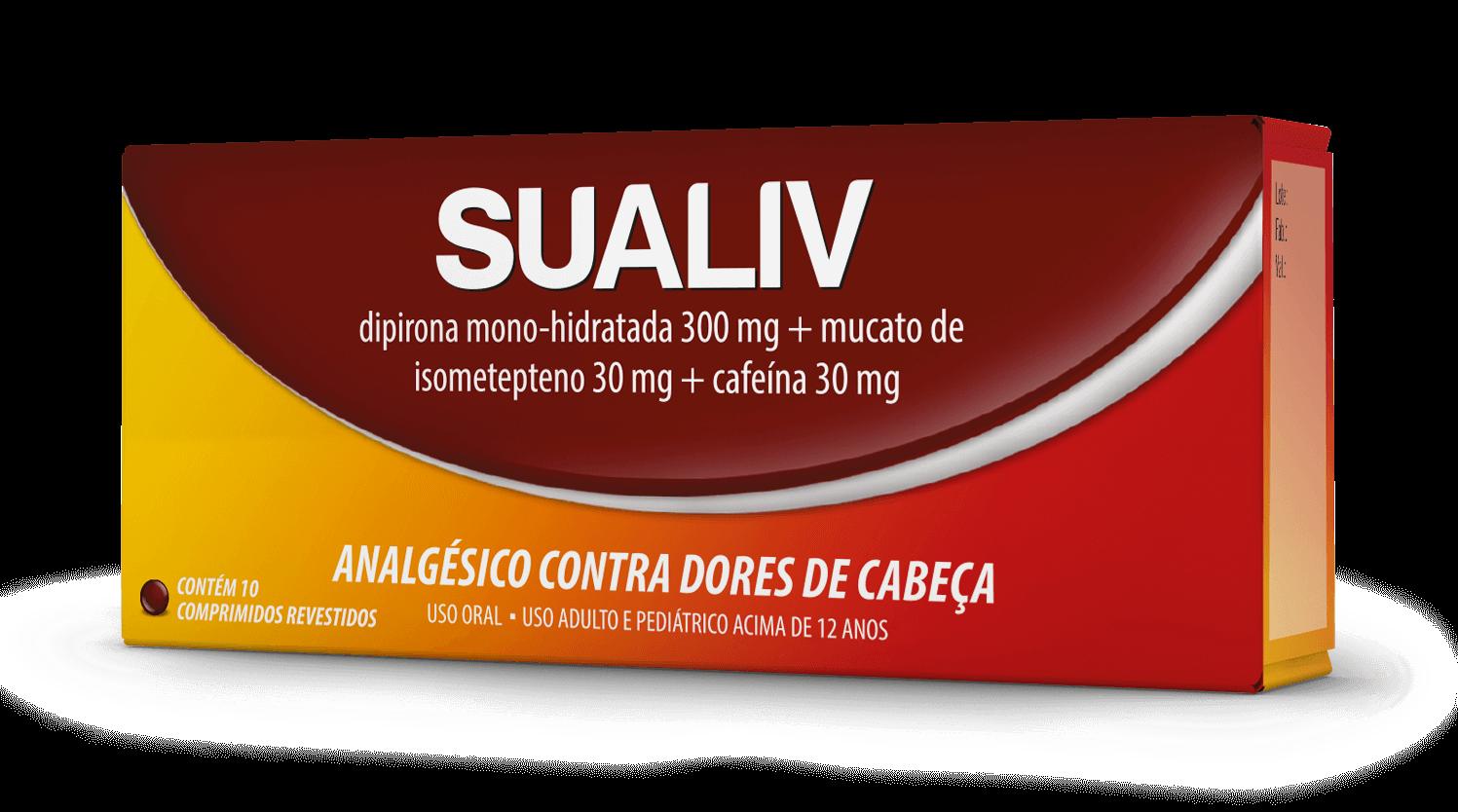 Imagem da embalagem do Sualiv.