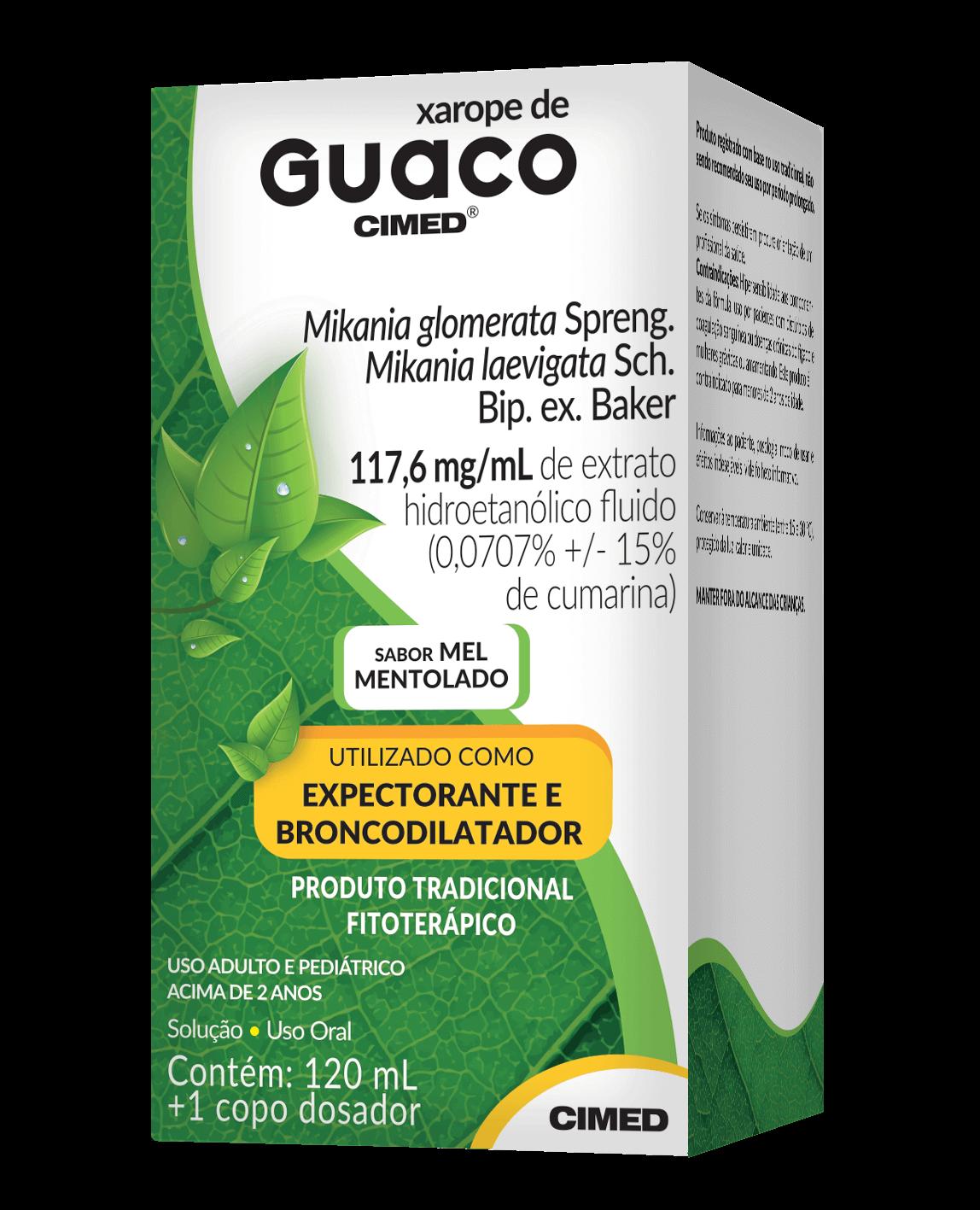 Imagem da embalagem do Guaco.
