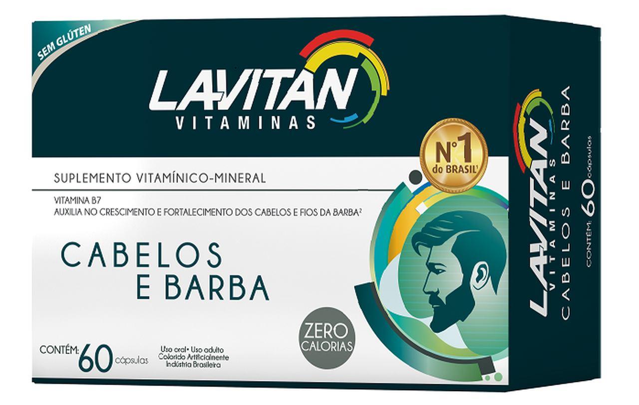 Imagem da Embalagem de Lavitan Cabelos e Barba