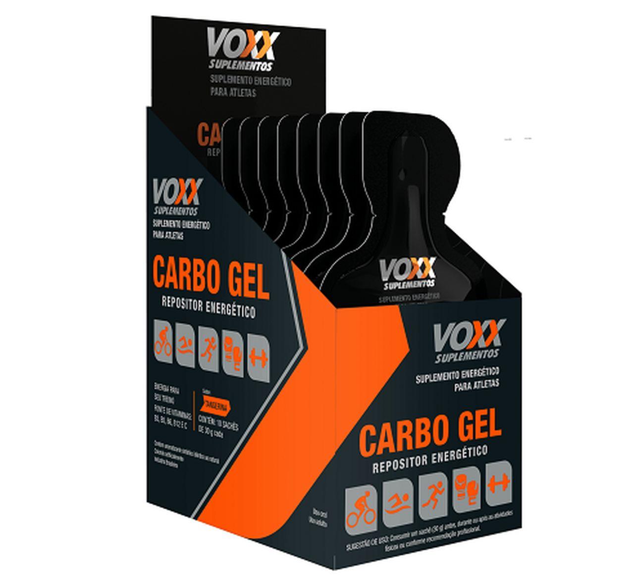 Imagem da embalagem de Voxx Carbo Gel