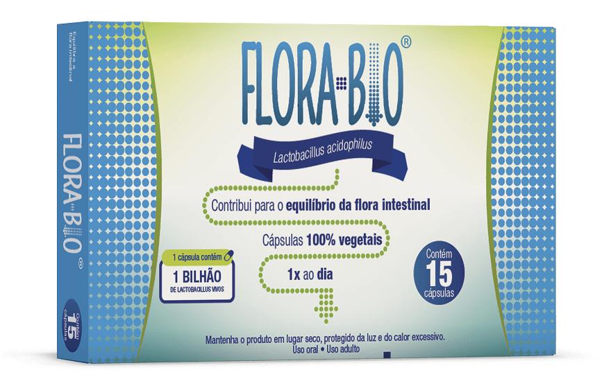 Imagem da embalagem do Florabio.