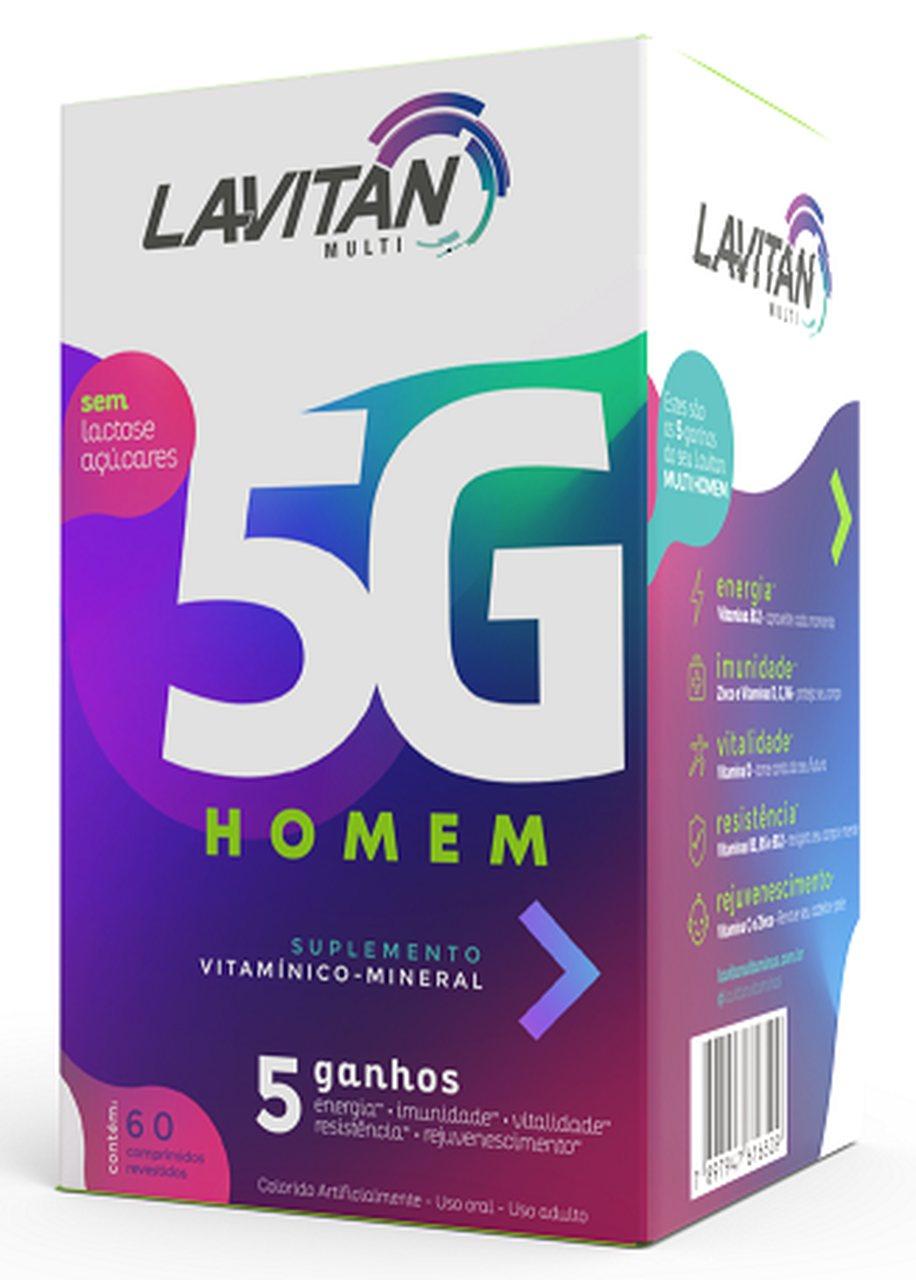 Imagem da Embalagem de Lavitan 5G Homem