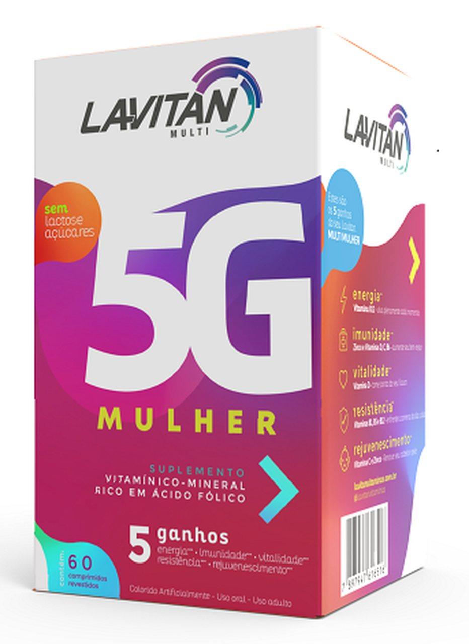 Imagem da Embalagem de Lavitan 5G Mulher
