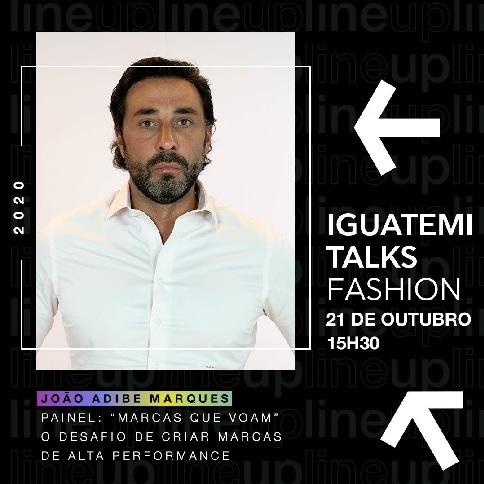 João Adibe CEO da Cimed e Erich Shibata Diretor de Criação, participam da 4ª edição Iguatemi Talks Fashion.