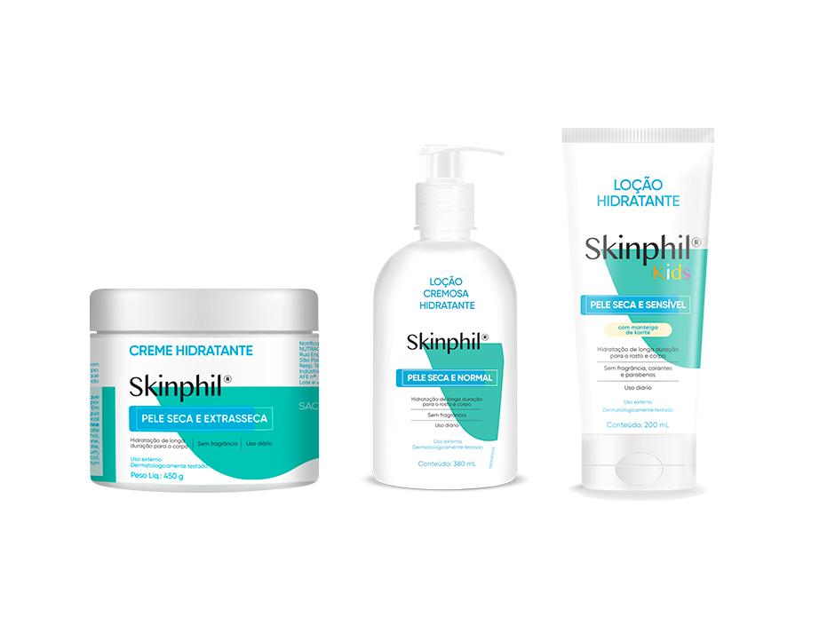 [RELEASE] Linha Skinphil reforça importância dos cuidados com a pele em nova identidade visual