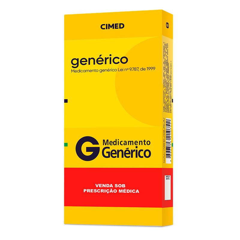 Imagem de embalagem de medicamento genérico Cimed
